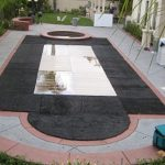 Flat-Pool-Cover-with-Plexi-Glass-Black-Astroturf