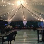 Full-Plexigalss-Pool-Cover-White-Top-Tent-and-String-Lights-2